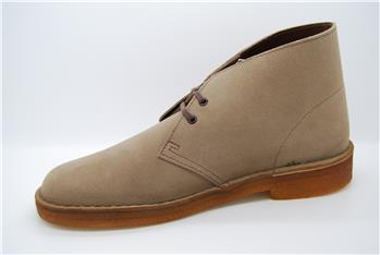 Clarks desert boot classica BEIGE SCURO I4