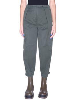 Pantaloni con tasche aspesi VERDE MILITARE