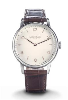 Orologio locman classico MARRONE I0