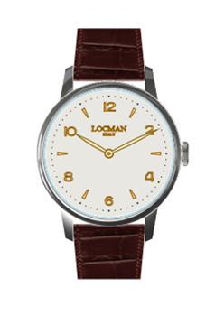 Orologio locman classico MARRONE