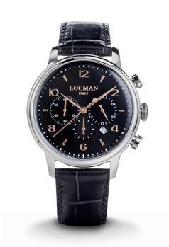 Locman cronografo 1960 uomo NERO