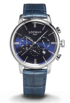Locman 1960 cronografo uomo BLU