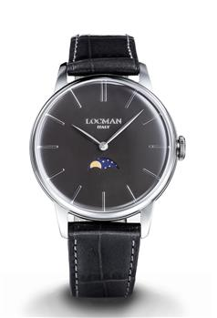 Locman 1960 fasi lunari uomo NERO