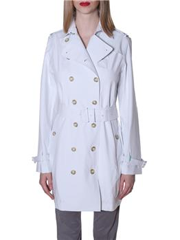 Save the duck trench classico WHITE