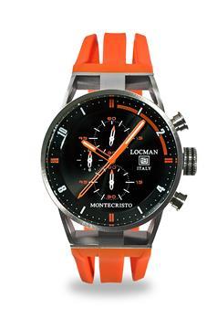 Locman montecristo cronografo ARANCIO