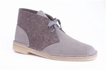 Clarks desert boot pelle lana CAMOSCIO E LANA Y5