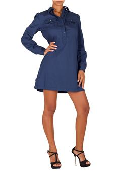 Abito camicia blauer BLU