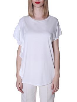 T-shirt twin set BIANCO
