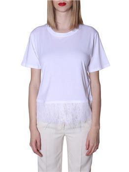 T-shirt twin set BIANCO P9