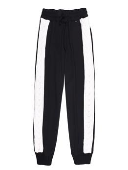 Pantalone twin set NEVE E NERO