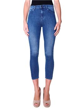 Jeans twin set skinny DENIM BLU MEDIO