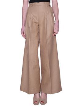 Pantalone twin set fondo largo DUNA