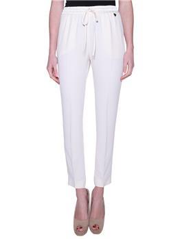Pantalone twin set classico AVORIO