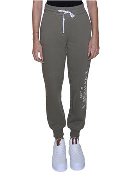 Pantalone twin set felpa VERDE ALPINO