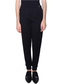 Pantalone twin set NERO Y1