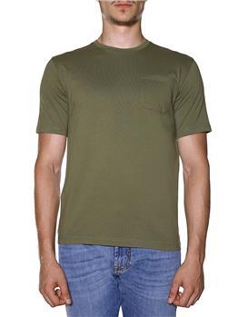 T-shirt aaspesi uomo taschino VERDE MILITARE