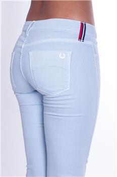 Pantalone fred perry donna CELESTE CHIARO P3