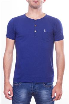 Henrilloyd t-shirt serafino BLU P6