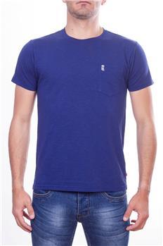 Henrilloyd t-shirt uomo tasca BLU P6