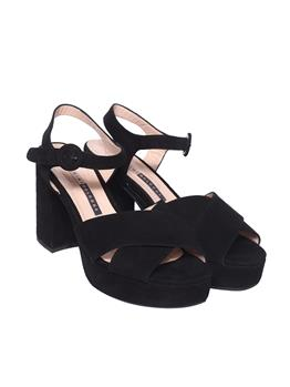 Sandalo chiarini donna NERO