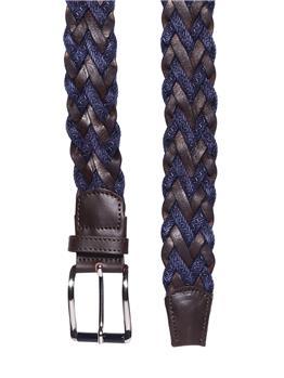 Cintura golf by montanelli BLU E MARRONE