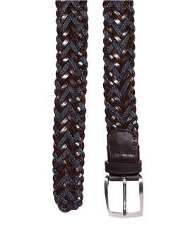 Cintura golf by montanelli MARRONE E BLU