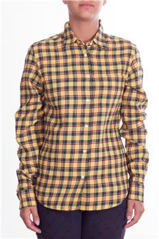 Camicia aspesi donna quadri GIALLO Q3