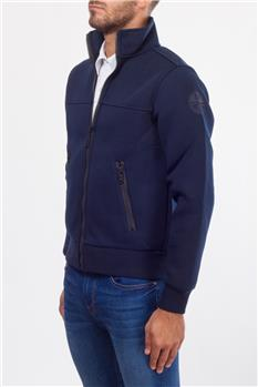 North sails felpa full zip BLU Y5