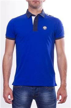 North sails polo uomo scritta BLUETTE P6