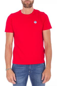 North sail t-shirt uomo ROSSO