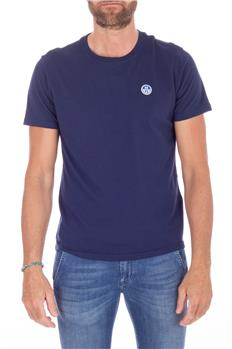 North sail t-shirt uomo BLU