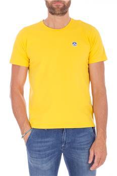 North sail t-shirt uomo GIALLO