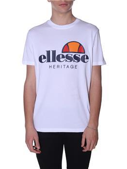 T-shirt ellesse uomo logo WHITE