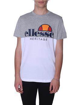 T-shirt ellesse logo heritage WHITE