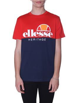 T-shirt ellesse logo heritage NAVY