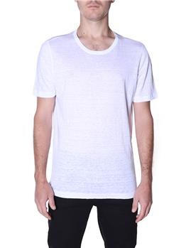 T-shirt golf by montanelli BIANCO