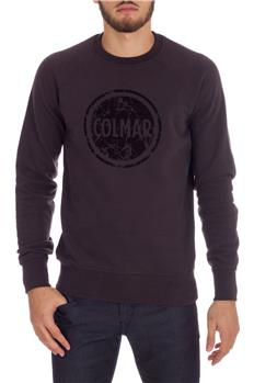Felpa colmar originals uomo MARRONE