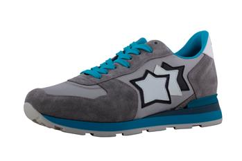 Sneakers atlantic star uomo GRIGIO E BLUETTE