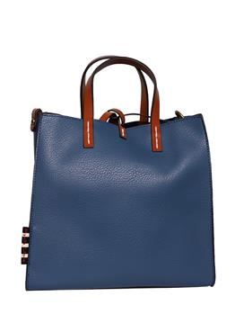 Borsa manila grace small BLU NAVY