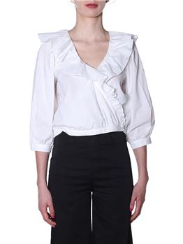 Camicia manila grace rouches OFF WHITE