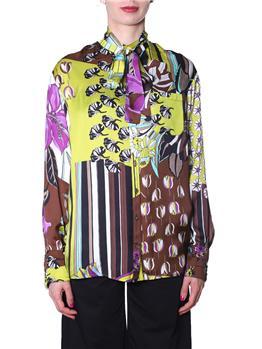 Camicia manila grace stampata CACAO