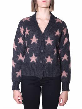 Cardigan roy rogers donna ANTRACITE NUDE