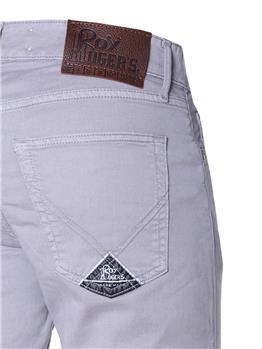 Jeans 5 tasche roy rogers GRIGIO