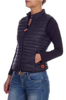 Save the duck gilet smanicato NERO