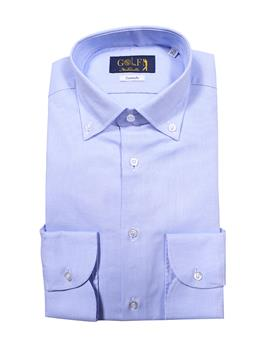 Camicia golf by montanelli CELESTE SCURO