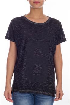 Superdry t-shirt donna numero GRIGIO ANTRACITE