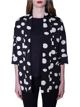 Kimono manila grace NERO LAVAGNA