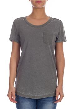 Superdry t-shirt donna burnout GRIGIO