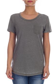 Superdry t-shirt donna burnout GRIGIO