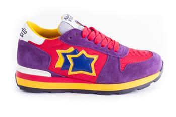 Sneaker atlantic star pelle VIOLA